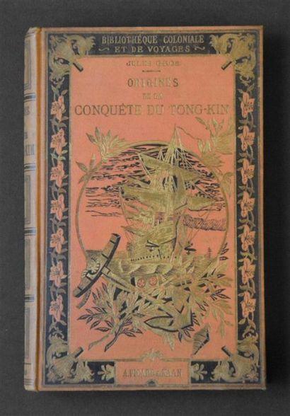 1886 GROS Jules Origines de la conquête du...