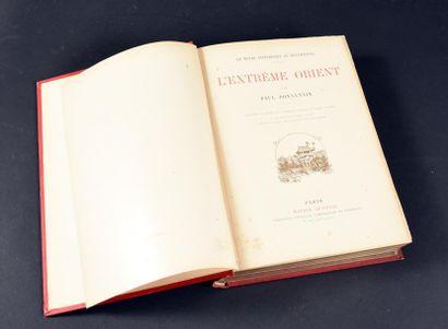 1887 Bonnetin, Paul L'extrême Orient Paris,...