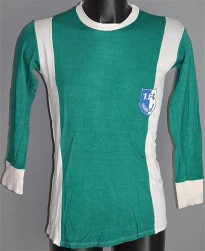 Klaus DECKER n°5 Maillot porté avec le FC...