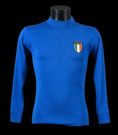 Aldo MALDERA n°6. Maillot porté avec l'Italie...