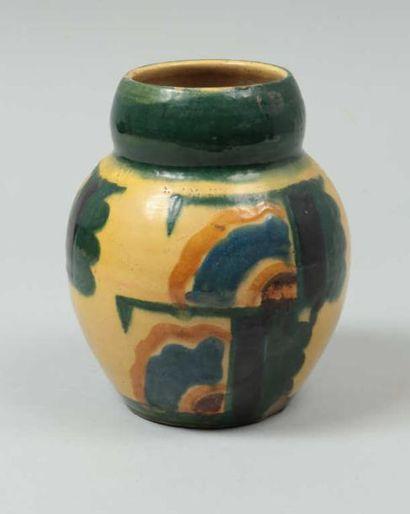 DANGAR Ann (1885-1951) attribué à Vase ovoïde...