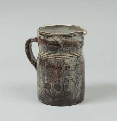 REYNAUD Gustave (1915-1972) Vase cylindrique...