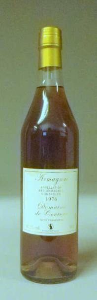 1 Bouteille ARMAGNAC 1976 - DOMAINE DE COUTURE...