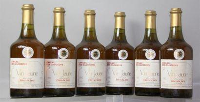 6 Bouteilles Vin Jaune Caveau des Jacobins...