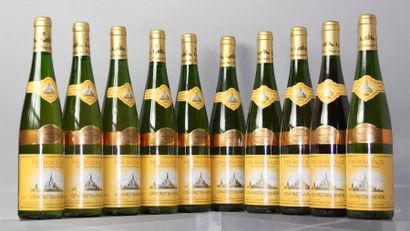 10 Bouteilles GEWURSTRAMINER Cave vinicole...