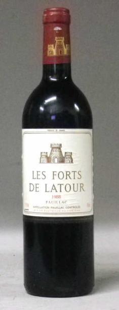 1 Bouteille LES FORTS DE LATOUR 1988 - P...