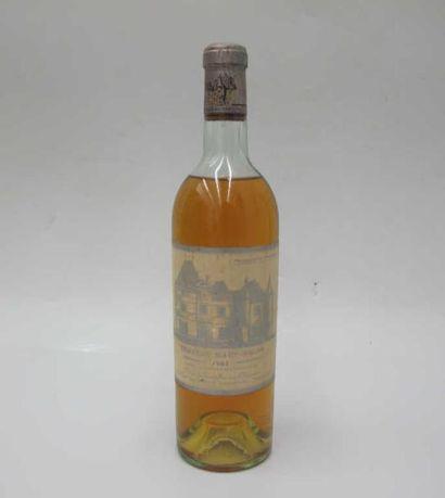 1 bouteille : chateau Haut-Brion blanc 1957...