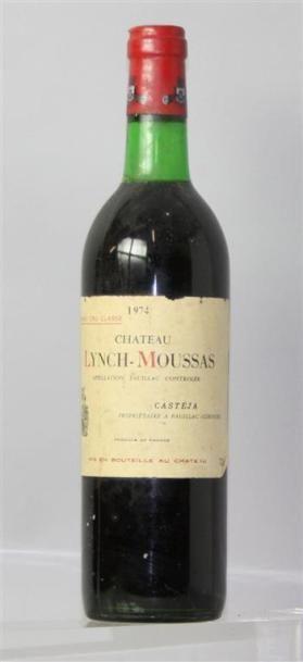 1 Bouteille Château Lynch Mousas Pauillac...