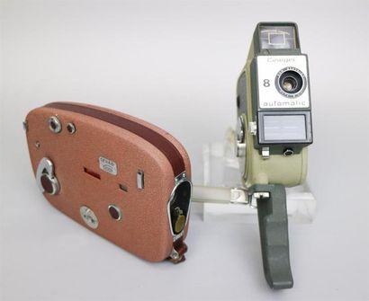 Lot de 2 caméras : Carena Geva 8, objectif...