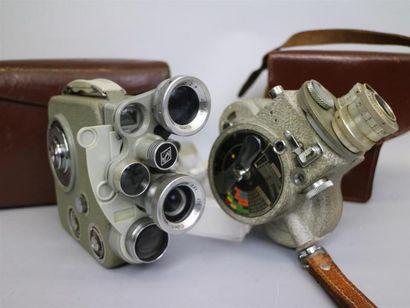 Lot de 2 caméras : Emel C93, vendue pour...