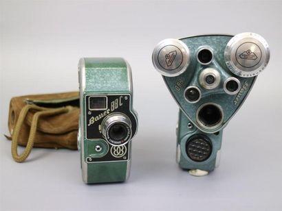 Lot de 2 caméras : Bauer 88C, objectif Rodenstock-Ronar...