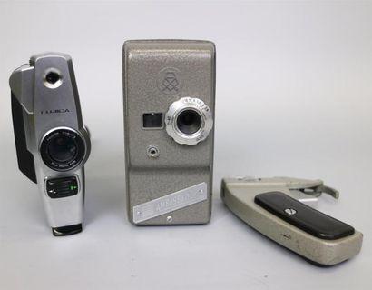 Lot de 2 caméras : Ambassador, vendue pour...