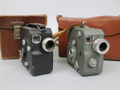 Lot de 2 caméras : Pathé, vendue pour pièces,...