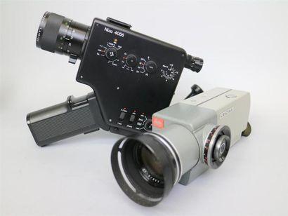 Lot de 2 caméras : Nizo 4056, Braun AG, en...