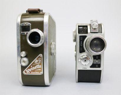 Lot de 2 caméras : Cinégel Retinette B, vendue...