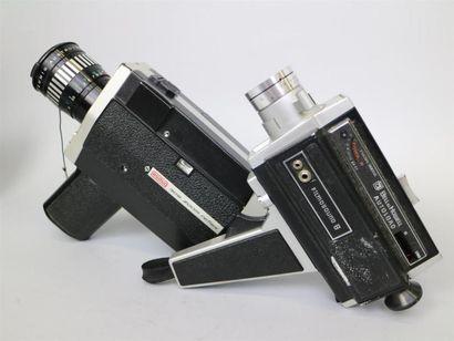 Lot de 2 caméras : Eumig 308 Zoom Reflex,...