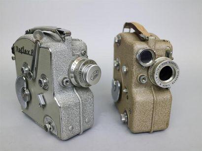Lot de 2 caméras : Camex Ercsam. Type VU....