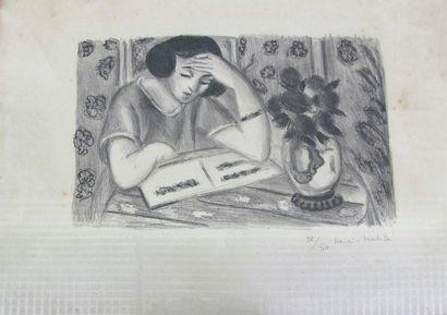 d'après Henri MATISSE (1869-1954). Jeune...