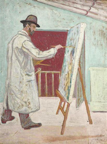 Attribué à Jean Jacques GAILLARD (1890-1976)....