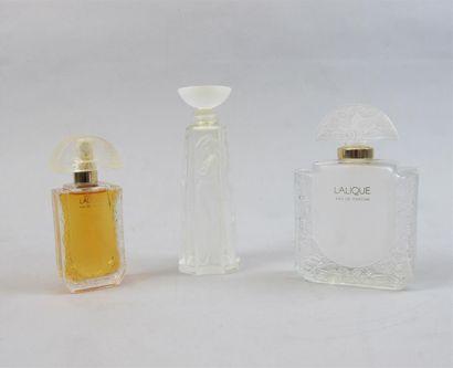 Marie Claude Lalique pour LALIQUE PARFUM...