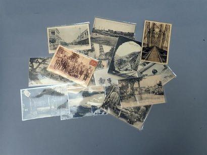 1910-1920. Un ensemble de 15 cartes postales...