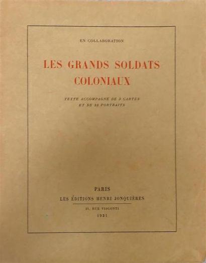 1931. Un ensemble de trois ouvrages sur l'Indochine....
