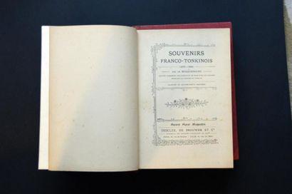 1903 Léon Xavier Girod Souvenirs franco-tonkinois...