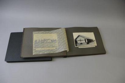 1922-1937 Deux albums photographiques Une...