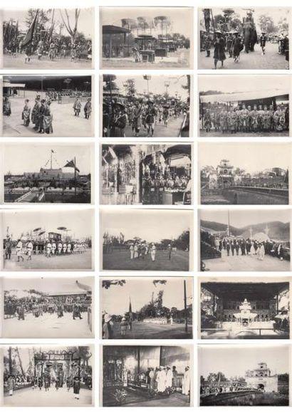 1924 Images officielles des actualités royales...