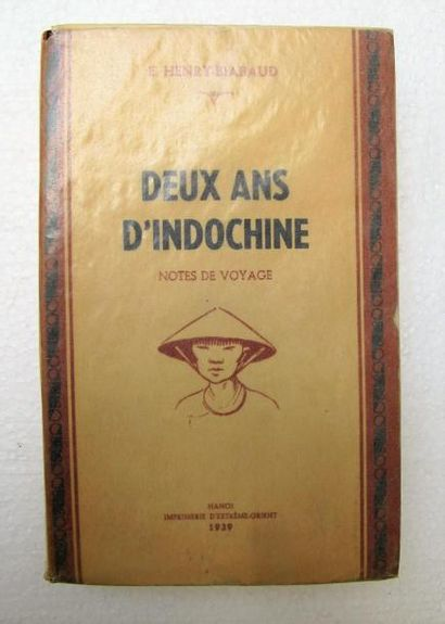 1939.Henry-Biabaud, DEUX ANS D'INDOCHINE,...