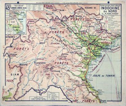 1935 Indochine du Nord / Delta du Tonkin,...