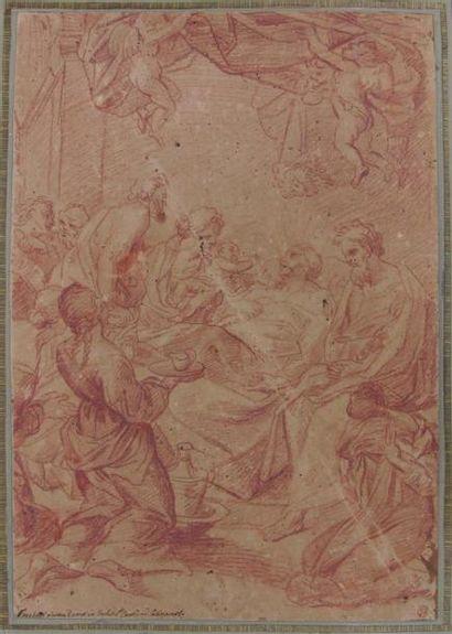 Ecole italienne du début du XVIIIème siècle....
