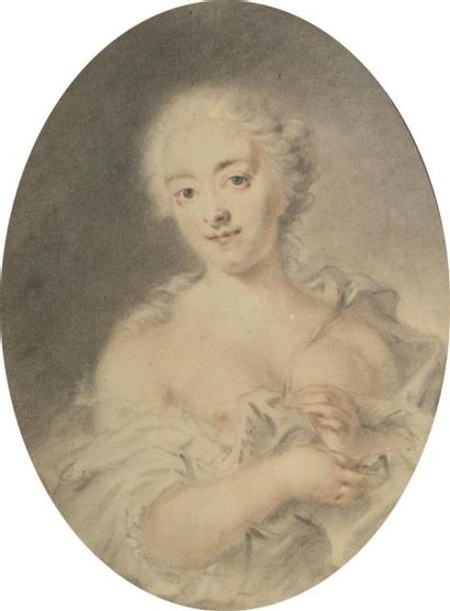 Attribué à Rosalba CARRIERA (1675-1757)....