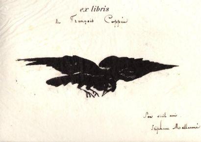 POE (Edgar Allan). Le Corbeau. The Raven. Poème par Edgar Poe. Traduction française...