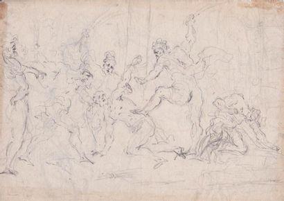 Attribué à Cesare Franchi POLLINI (1560-1630)....
