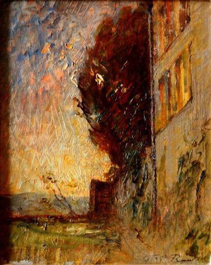 François-Auguste RAVIER (1814-1895) La maison...