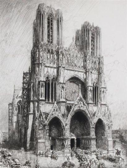Auguste LEPERE (1849 1918) Cathédrale de...