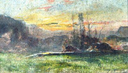 François-Auguste RAVIER (1814-1895) Morestel...