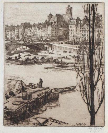 Eugène BEJOT (1867 1931) Saint Gervais (2e...