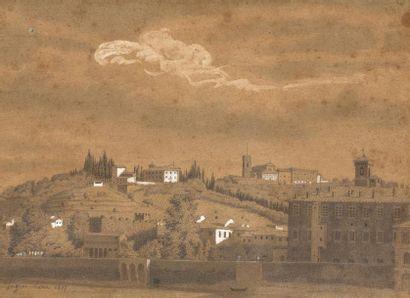 Ecole française début du XIXe siècle Vue...