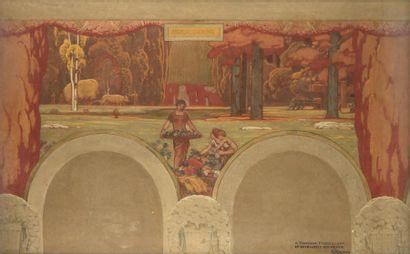 Henri RAPIN (1873-1939) Fructidor Dessin...