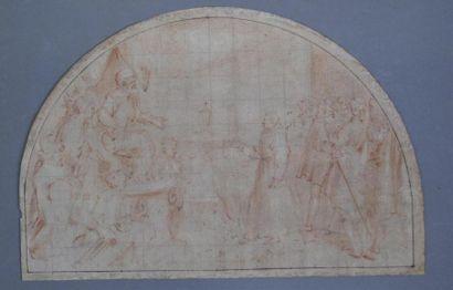 Italie du Nord, fin du XVIème siècle Scène...