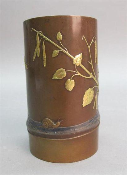 Epoque MEIJI (1868 - 1912) Porte-pinceaux...
