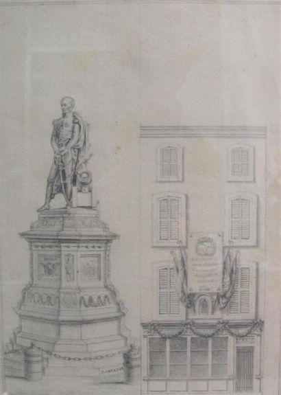 J.CARLIER. Ecole française du XIXème siècle...