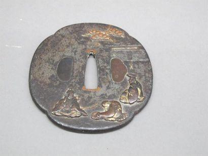 JAPON - Milieu Epoque EDO (1603 - 1868) Mokko...