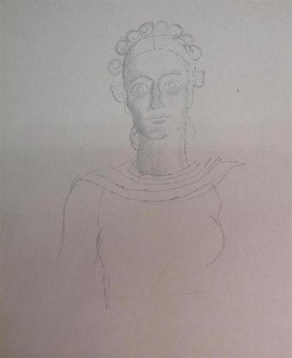 Louis BILLOTEY (1883-1940) Cassandre 2 études...