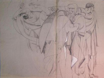 Louis BILLOTEY (1883-1940) Sation VII, la...
