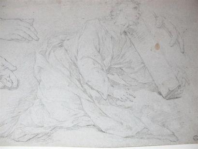 Ecole italienne du XVIIIème siècle Etude...