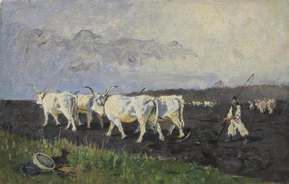 Attribué à Hélène BUTTNER (1861-1947) Le...