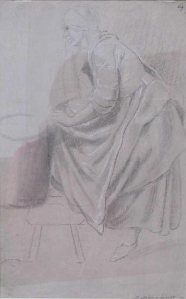 Gérard de LAIRESSE (1641-1711) Femme de Chambre...